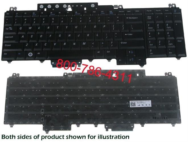 החלפת מקלדת למחשב נייד דל Dell Inspiron 1720 / 1721 Keyboard JM451 NSK-D8201