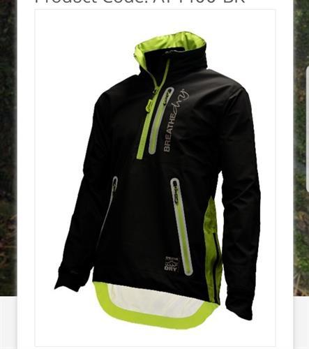 מעיל גשם ARBORTEC צבע שחור
