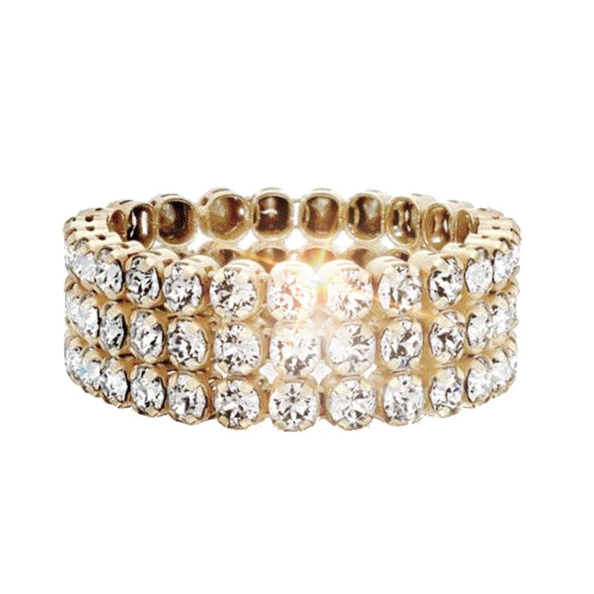 טבעת ELEANOR מצופה זהב