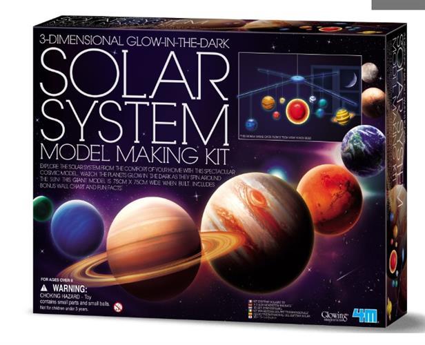 4M -מובייל מערכת השמש תלת מימד