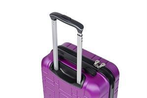 כולל משלוח מהיר לבית!!! סט מזוודות איכותי AMERICAN EXPLORER- צבע סגול