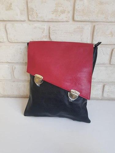 עותק של תיק גב שרון אדום/שחור
