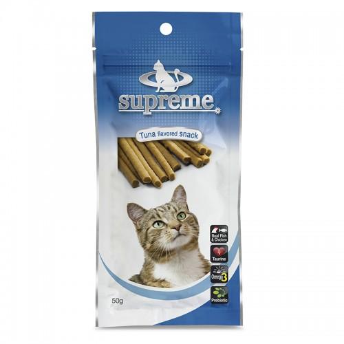 חטיף סופרים לחתול טונה 50 גרם