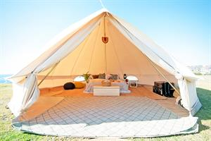 Glamping Bell 5M Canvas Tent - השכרה