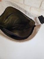 תיק צד מבד דורית שחור
