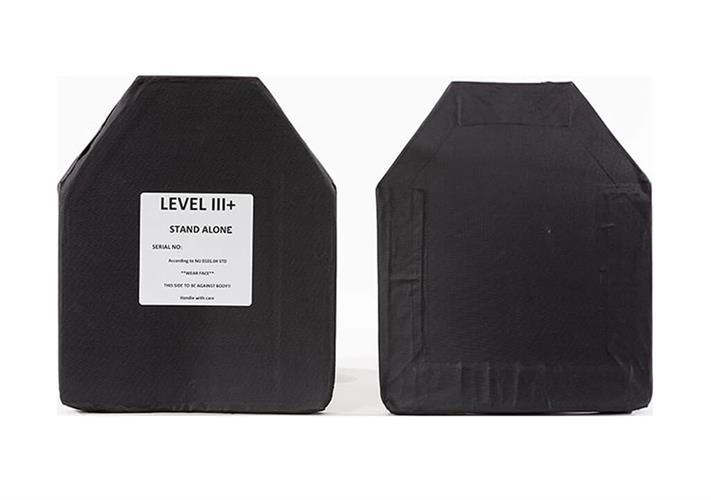 """פלטת מיגון בליסטית קלת משקל 1.3 ק""""ג   III+ 3 לווסט טקטי דגם E SAPI STAND ALONE"""