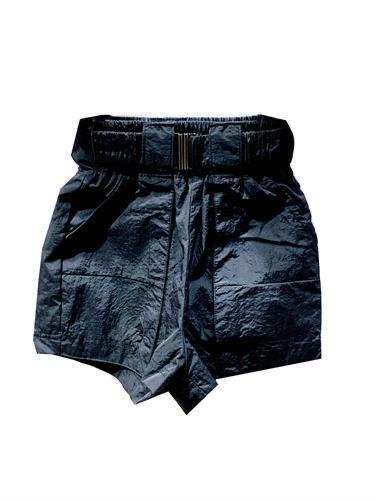 מכנס ניילון שחור - 2-16