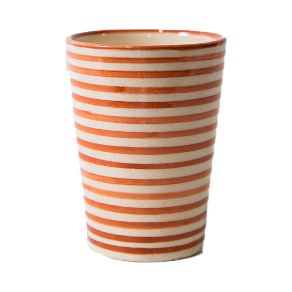 כוס חמרה פסים L