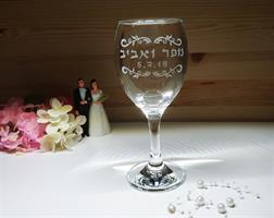 חריטה בעבודת יד על זכוכית