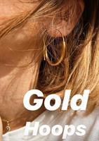 עגילי הולה זהב