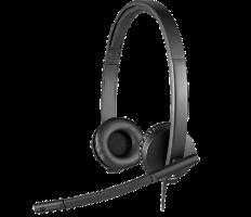 אוזניות חוט Logitech USB STEREO H570