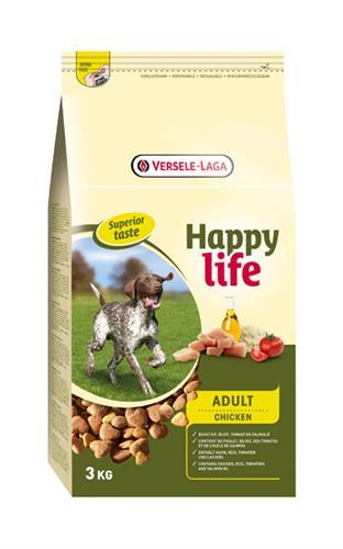 "happy life עוף 15 ק""ג"