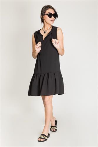שמלת פאלם שחור