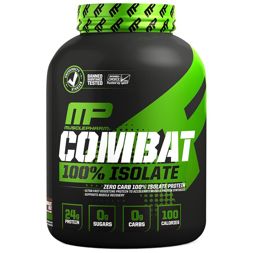 אבקת חלבון מאסל פארם קומבט איזולט - Combat 100% Isolate