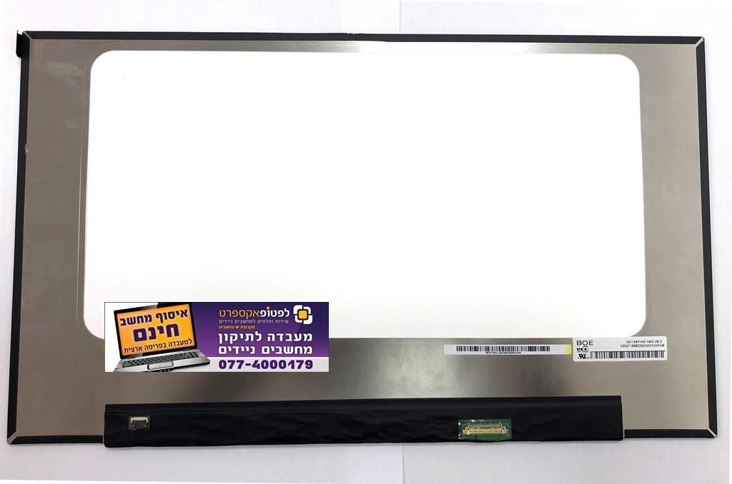 מסך להחלפה במחשב נייד NV156FHM-N63 V8.0 LED FHD Display Panel 1920x1080 30 Pin IPS