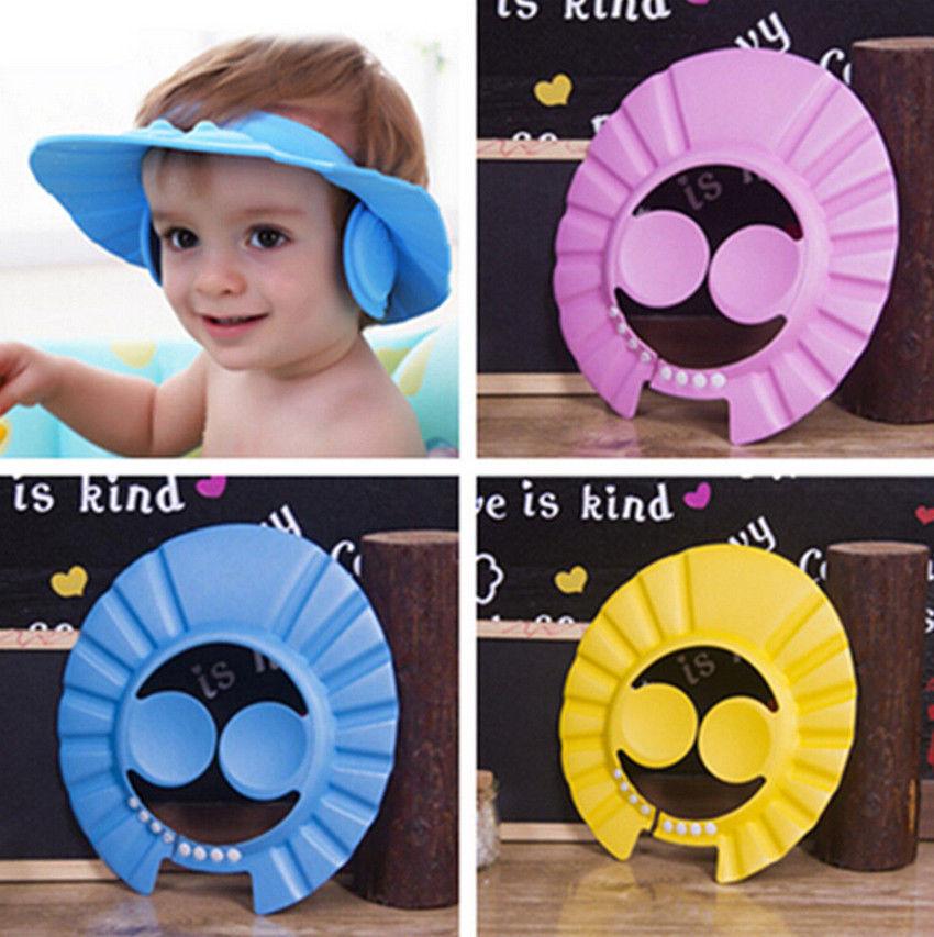 כובע לאמבטיה לילד כולל כיסוי לאוזניים