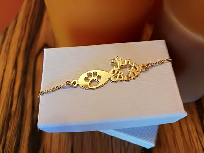 Pet Infinity bracelet