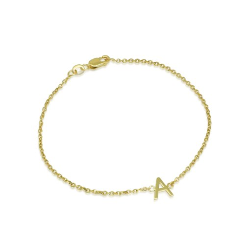 צמיד זהב עם אות|צמיד זהב עם אותיות | צמיד אותיות זהב