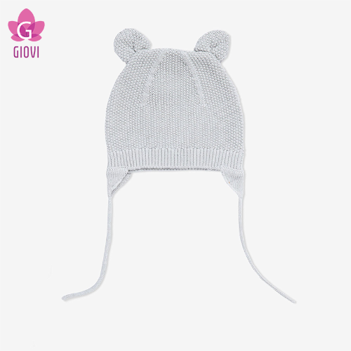 כובע עם אוזני חתול(אפור בהיר)