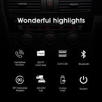 משדר fm מקצועי לרכב דגם T38 של חברת onever עם דיבורית+ושמיעת מוזיקה