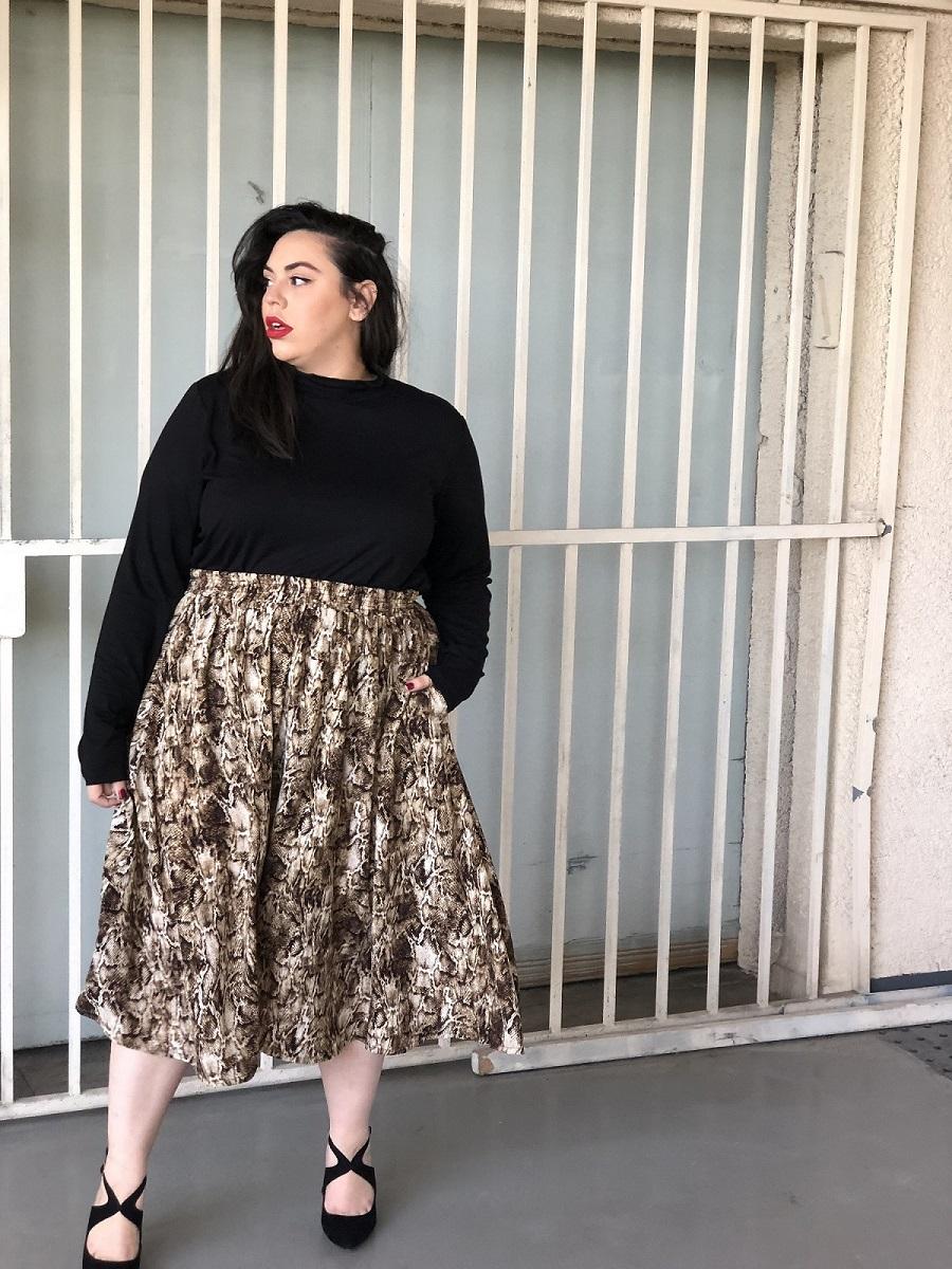 חצאית לורי מנוחש