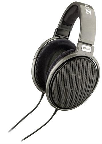 אוזניות חוטיות Sennheiser HD650, מקצועיות, חומרים אקוסטיים מיוחדים
