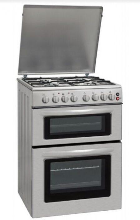 תנור אפייה דו תאי משולב גז דגם LDOV-60