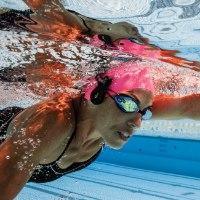 נגן למים FINIS-DUO - נגן לשחייה פיניס-דו צבע שחור