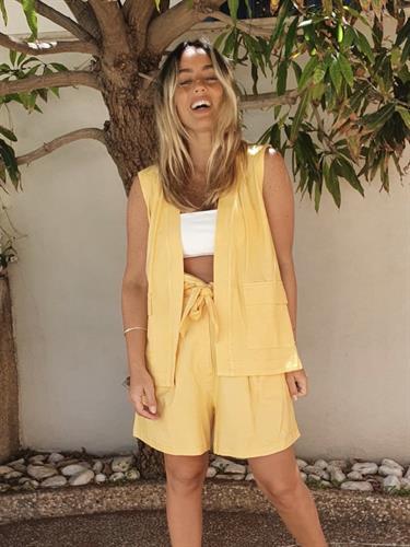 חליפת שורט NAPOLI צהוב