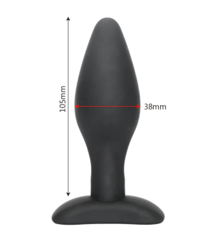 """פלאג איכותי בצבע שחור 10.5 ס""""מ רוחב 4 ס""""מ"""
