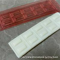 Chocolate tablet mold