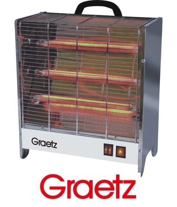 Graetz תנור חימום ספיראלות דגם GR-1003