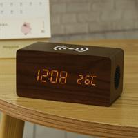 רדיו FM , רמקול בלוטוס , שעון מעורר וטוען אלחוטי לטלפון חכם