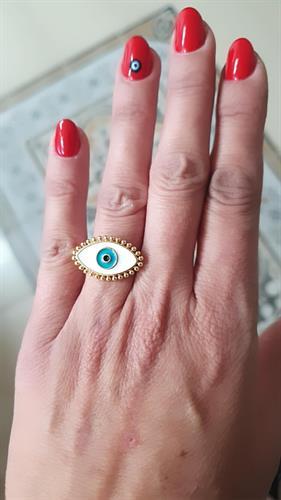 טבעת עין לבנה