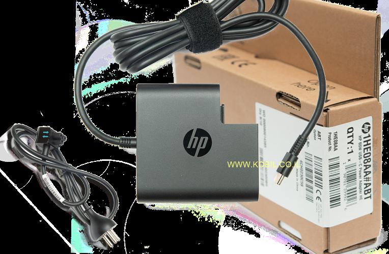 מטען למחשב Hp USB - C Type-C 20V-3.25A 65W