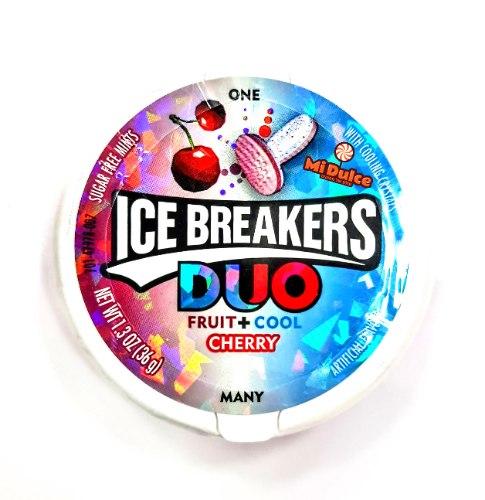 Ice Breakers סוכריות מרעננות בטעם דובדבן