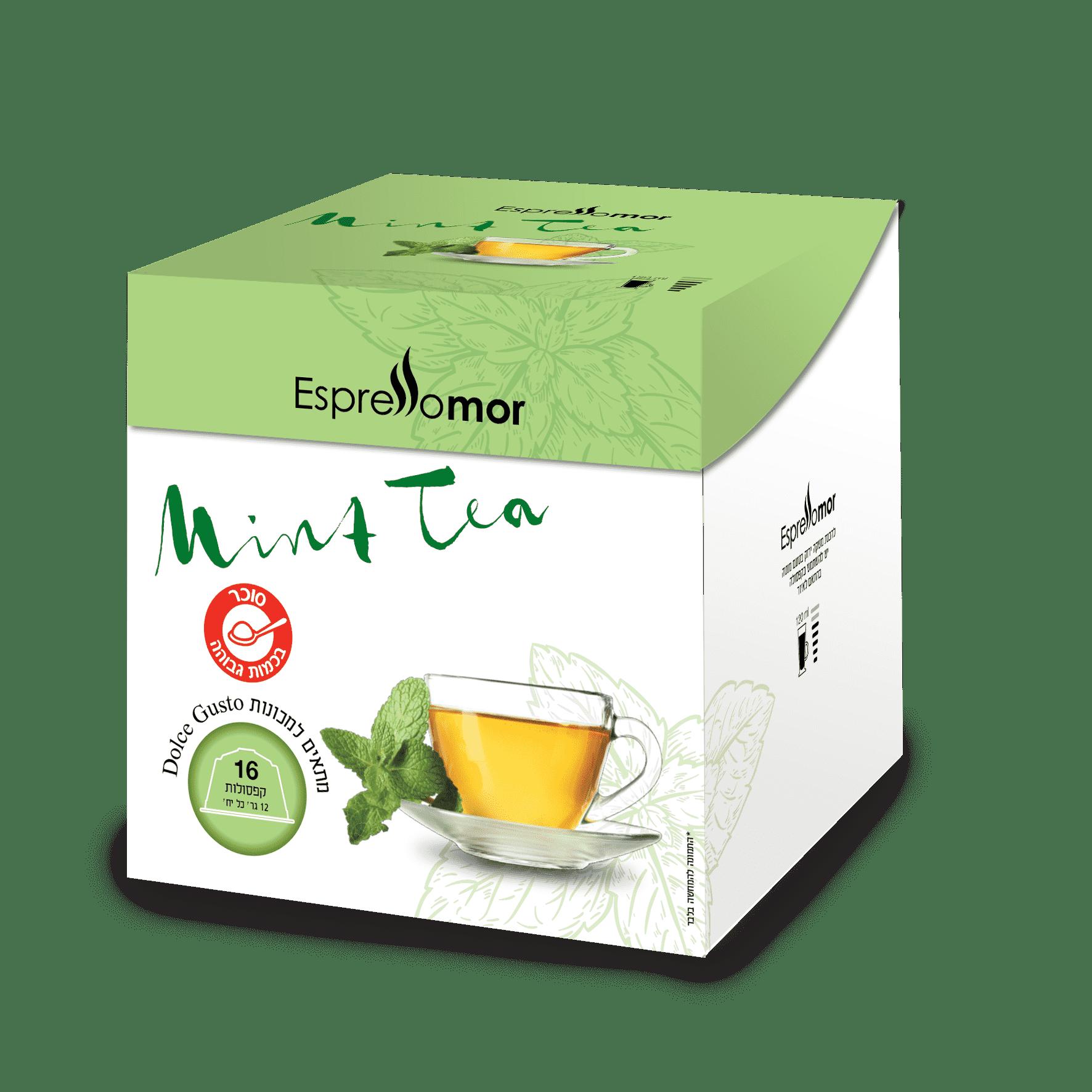 96 קפסולות Mint Tea - תה נענע