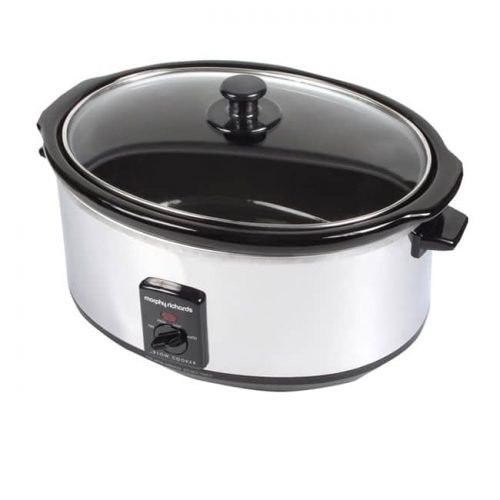 סיר נירוסטה לבישול איטי מורפי ריצארדס - 8 ליטר דגם 48735