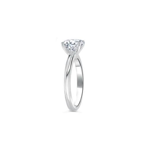 טבעת יהלום 050 קראט