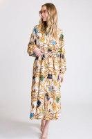 שמלת קוואלי לבן
