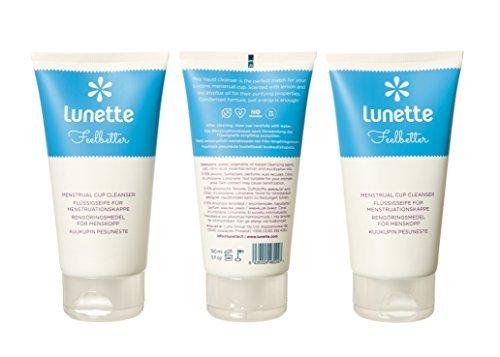 סבון טבעי לשטיפת גביעונית |LUNETTE