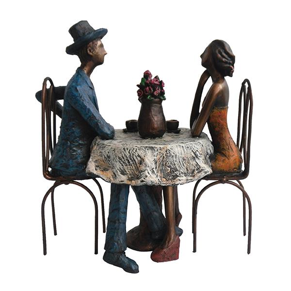 """מתנות ליום האהבה פסל """" קפה מילאנו """""""