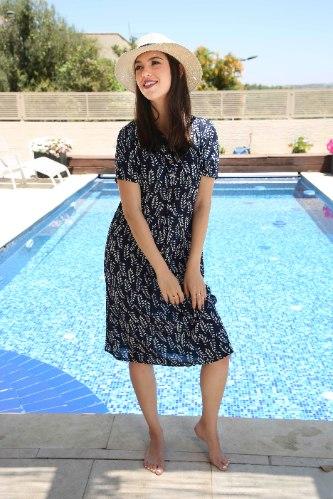 שמלת דניאלה כחולה