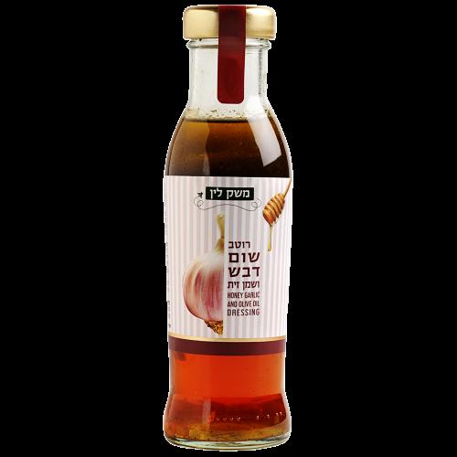 רוטב שום דבש ושמן זית