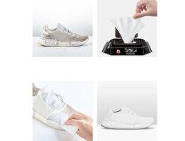 מטליות הקסם פרימיום מגבונים לניקוי נעליים