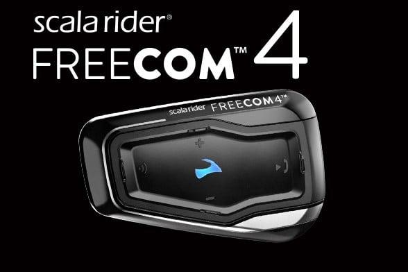 מערכת תקשורת לקסדה scala rider FREECOM 4