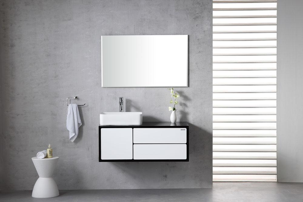 ארון אמבטיה תלוי בעיצוב נקי דגם בלוק BLOCK
