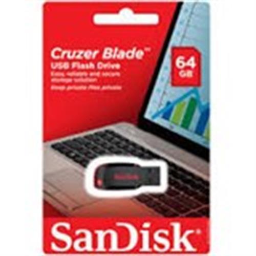 זיכרון נייד דיסק און קי  SanDisk 64GB
