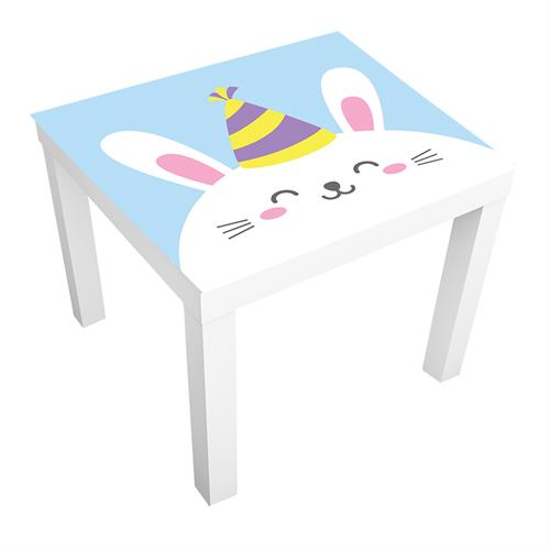 1 יח' טפט דביק מותאם לשולחן (LACK)- ארנב