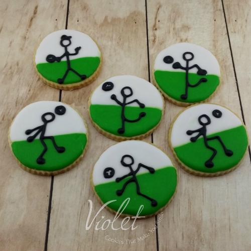 עוגית שחקני כדורגל